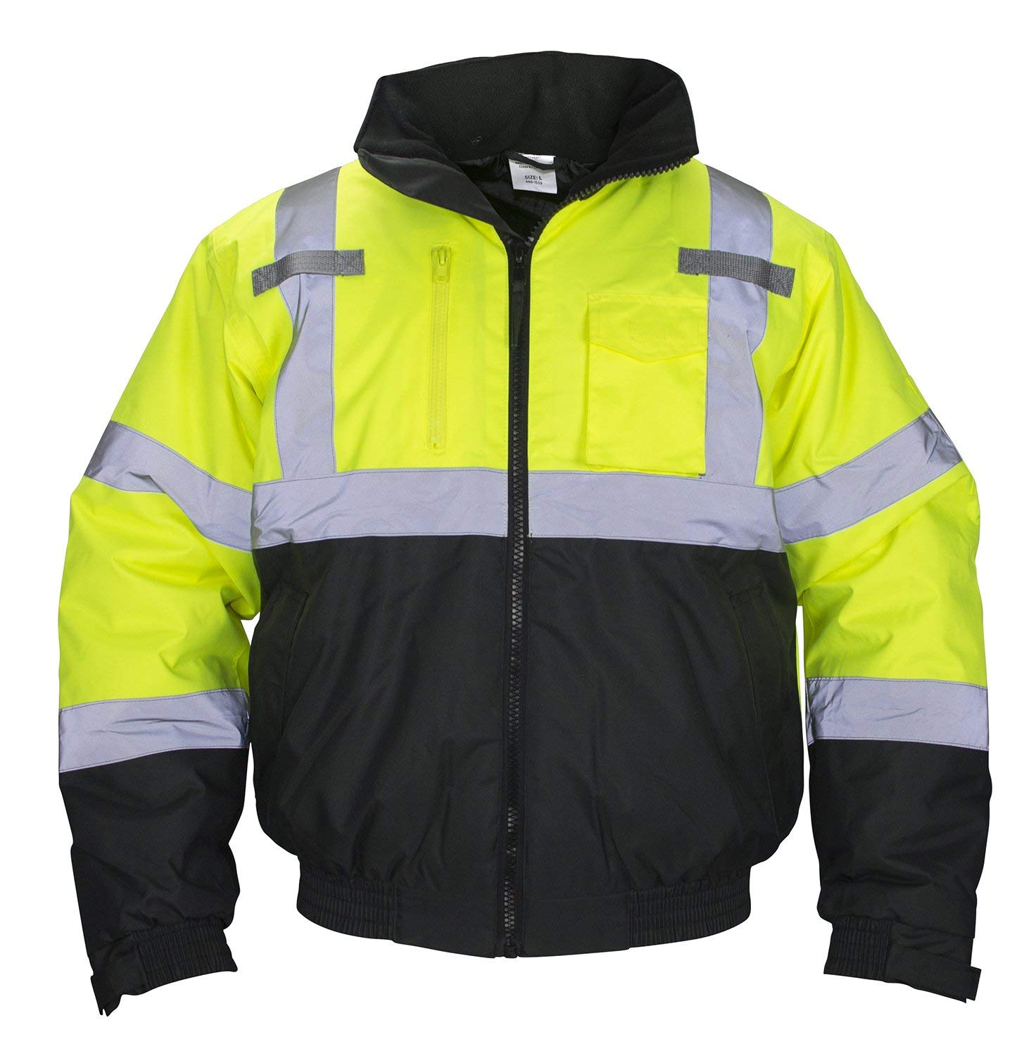 TINGLEY SAFETY BOMBER JACKET, Safety Green