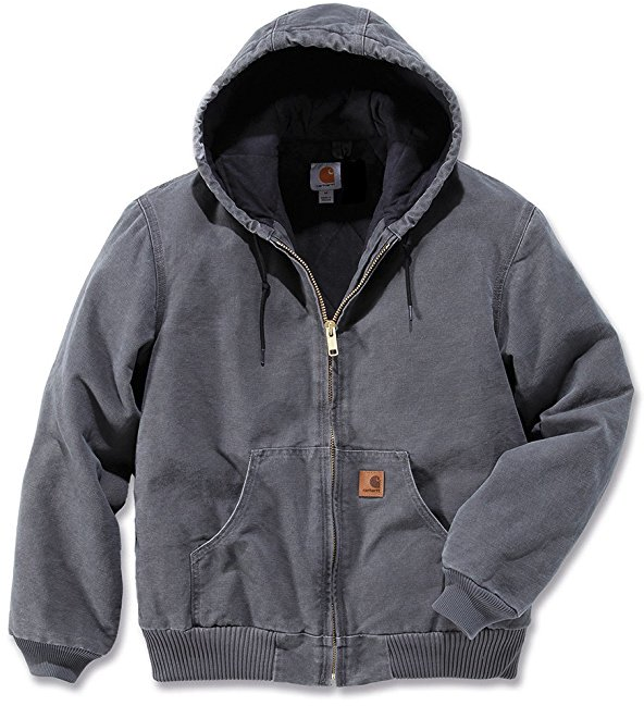 CARHARTT SANDSTONE ACTIVE JACKET - LINED, Gravel
