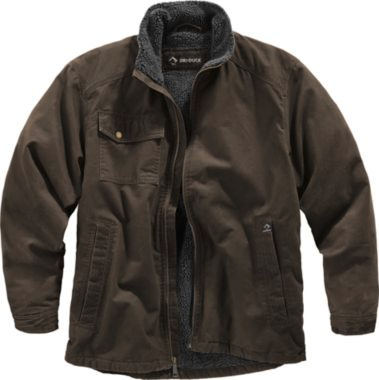 DRI DUCK WORK JACKET, Tobacco