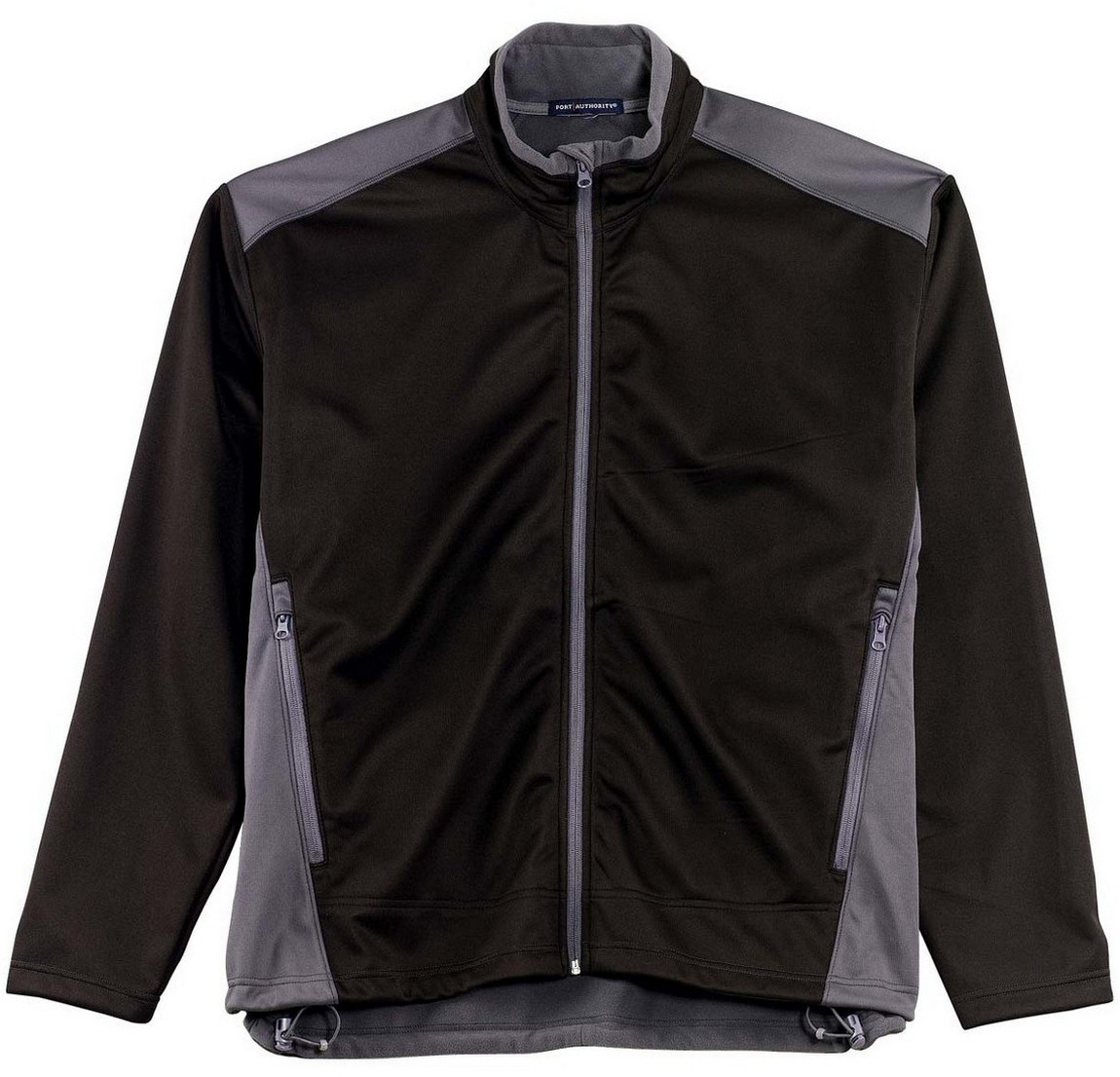 TWO-TONE SOFT SHELL JACKET, Black