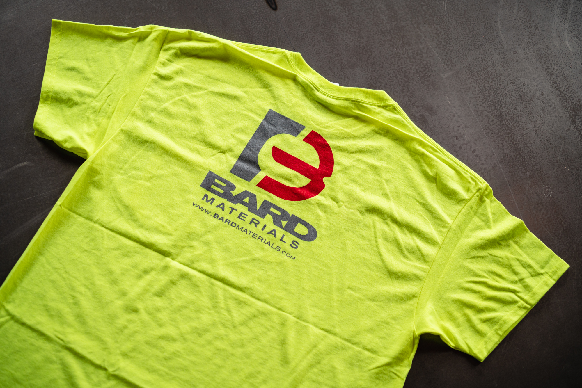 BARD SAFETY T-SHIRTS, Safety Green