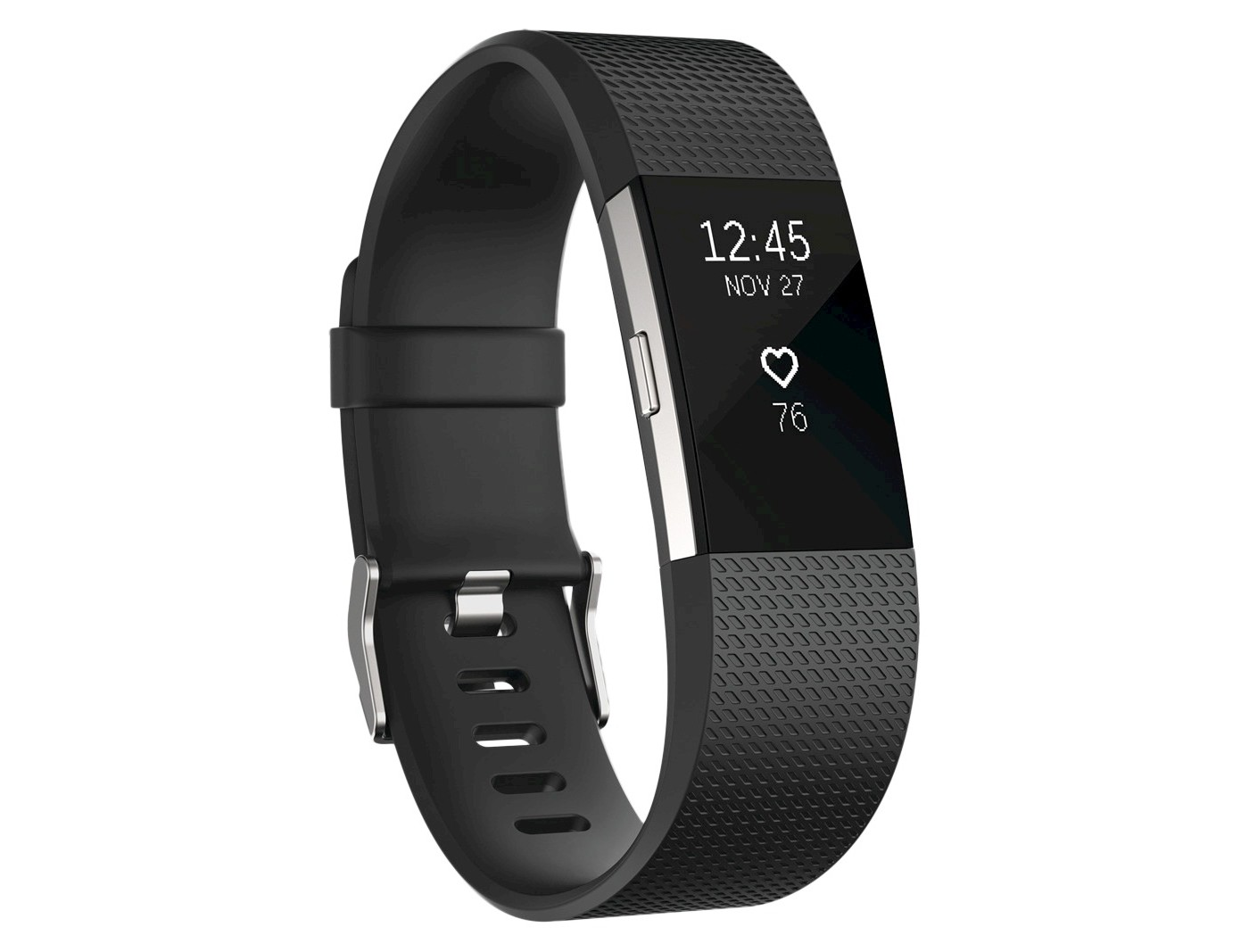 FITBIT CHARGE 2 HR ACTIVITY WRISTBAND, Black