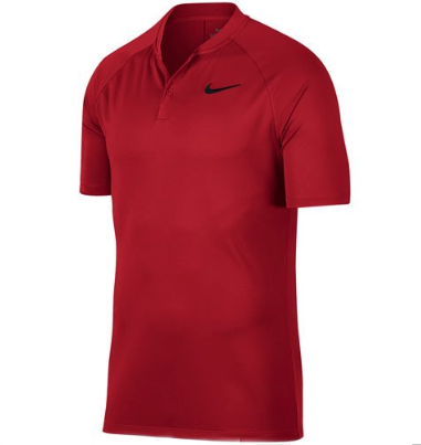 MEN'S NIKE POLO SHIRT , Red