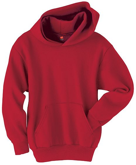 TODDLER PULLOVER HOODIE, Red
