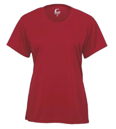 WOMEN'S PERFORMANCE T-SHIRT, Red