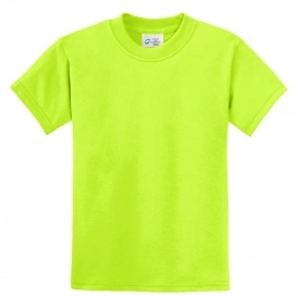 YOUTH SAFETY SHIRT, Safety Green