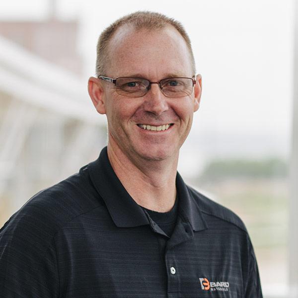 Headshot of Scott Glendenning who works at BARD Materials