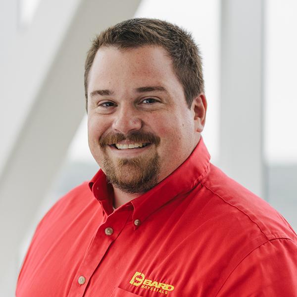Headshot of Ben Schroeder who works at BARD Materials