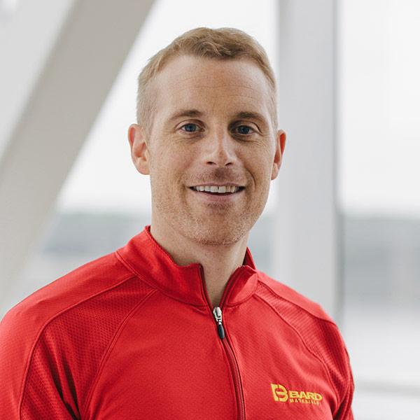 Headshot of Tony Thier who works at BARD Materials